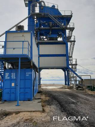 Б/У Асфальтный завод Benninghoven ECO- 240 т/ч, 2015 г