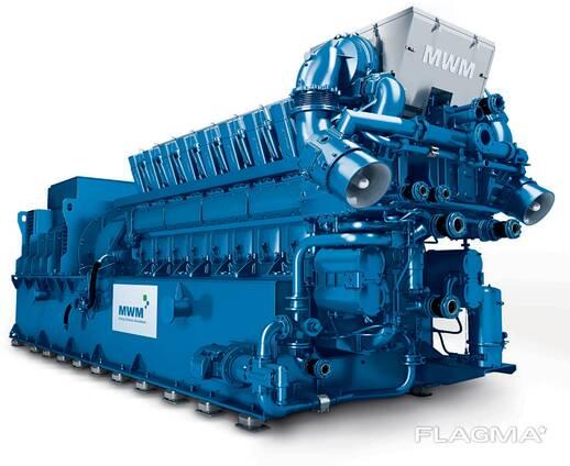 Б/У газопоршневой двигатель MWM TCG 2032 V 16, 4300 Квт