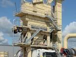 Б/У Мобильный асфальтный завод Intrame UM160 т/ч, 2000 г. в. - фото 2