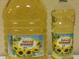 Sunflower oil refined 1L and 5L